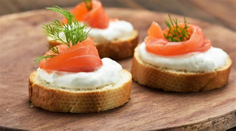 toast canapes recipe smoked salmon canapes plano profile connecting