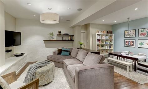 family room layout large contemporary mirrors small basement family room Basement