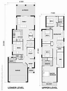 Schmale Häuser Grundrisse : pin by building buddy on small lot house floorplans pinterest haus grundriss ~ Indierocktalk.com Haus und Dekorationen