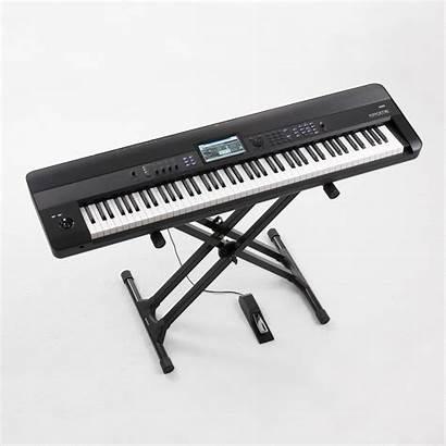 Piano Electric Korg Krome Workstation Keys Ckmusic