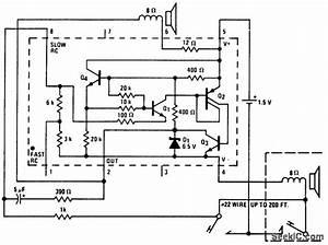 Morse Code Set Using An Lm3909 Chip