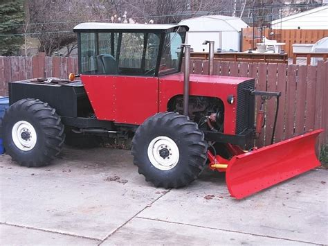 homemade tractor homemade 4x4 tractor and blade