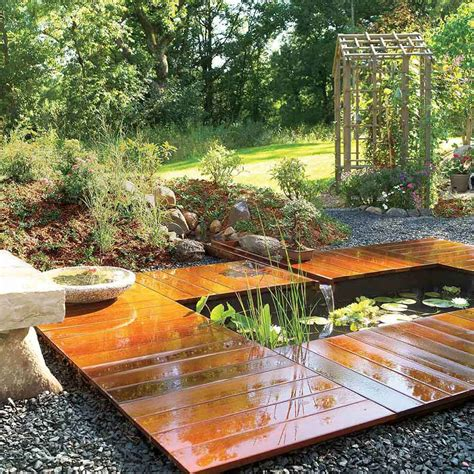 images end table with built in l pond and waterfall projects you can diy the