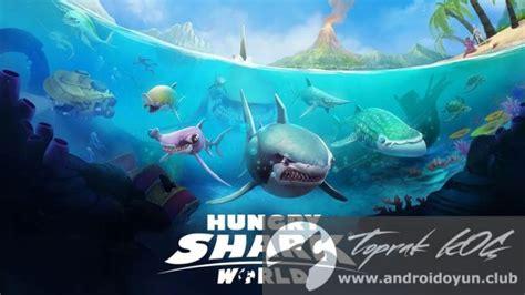 hungry shark world v1 0 4 mod apk para hileli