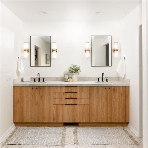 Ikea Kitchen Cabinets Used As Bathroom Vanity by A Modern California Ranch House Using Impression Tahoe In