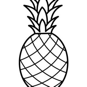 draw  pineapple dotted sheet coloring page draw