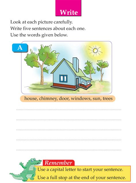 writing skill grade 1 picture composition 5
