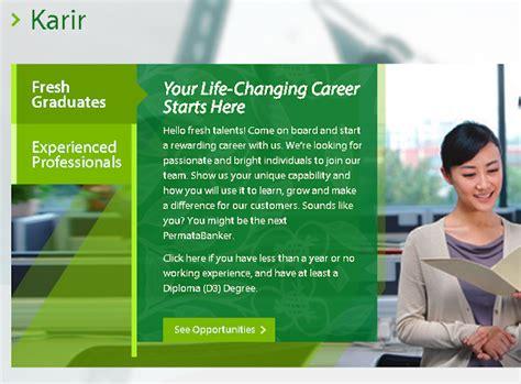 lowongan kerja bank permata terbaru  job fair