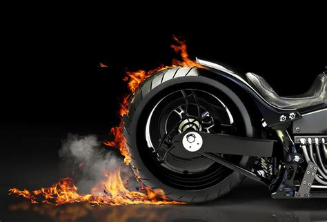 shop custom motorcycle burnout wallpaper  travel