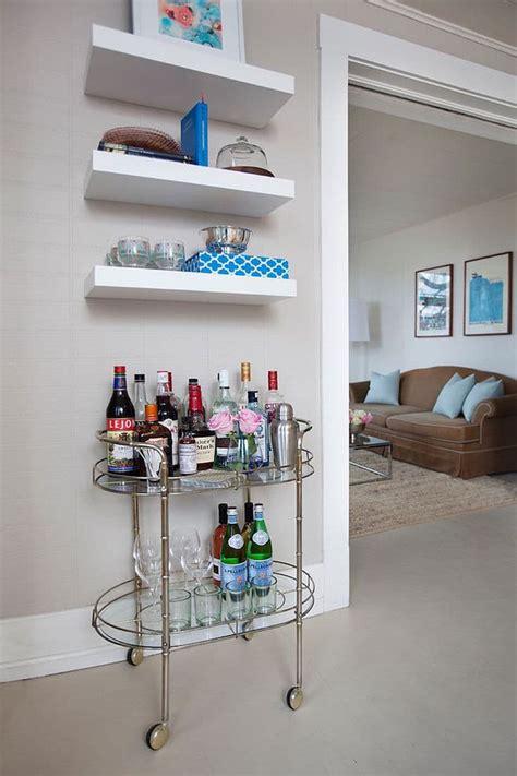 cool minibar idea  small space stylendesigns