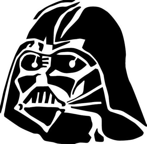 Darth Vader Pumpkin Template by Outstanding Pumpkin Stencils Wars Design