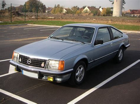 Opel Monza by Opel Monza Technical Details History Photos On Better