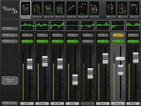 ipad mixing desk app kvr yamaha releases m7cl stagemix for ipad
