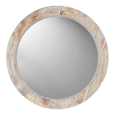 Runde Spiegel Mit Rahmen by Decorative Mirror Wood Frame