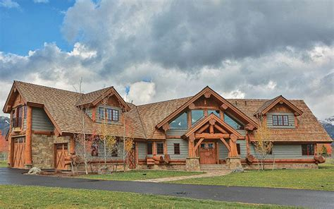 Design Your Own Ranch Style Home by 4 Tips To Building A Ranch Style Log Home