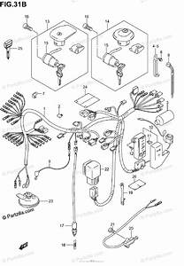 Suzuki Motorcycle 2005 Oem Parts Diagram For Wiring