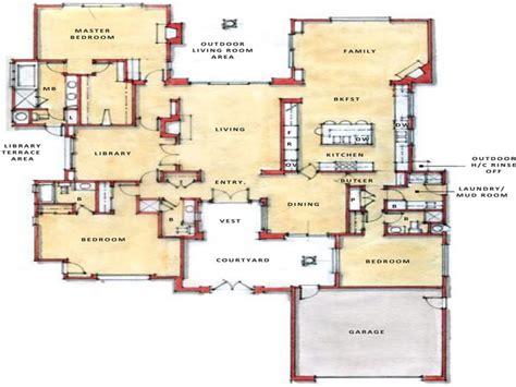 floor plans com modern open floor plans single open floor plans