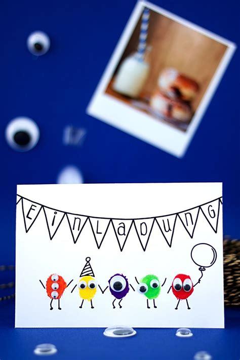 spiele für draußen kindergeburtstag einladungskarte f 252 r kindergeburtstag selber basteln kinderkram einladungskarten