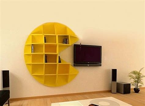 Pacman Just Awesome Pinterest Creative Bookshelves