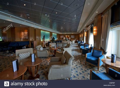 Chart Room With Classic Furnitures For Passengers On Deck