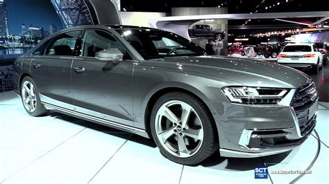 Audi A8 L 2019 by 2019 Audi A8 L Exterior And Interior Walkaround Debut