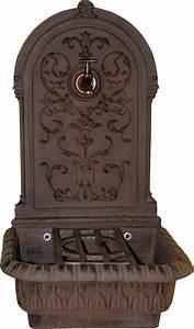 Nettoyer Fonte Rouillée : fontaine en fonte renaissance rouille ~ Farleysfitness.com Idées de Décoration