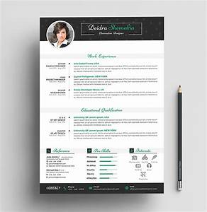 Cover Resume Letter Examples Free Professional Resume Cv Design Template With Cover