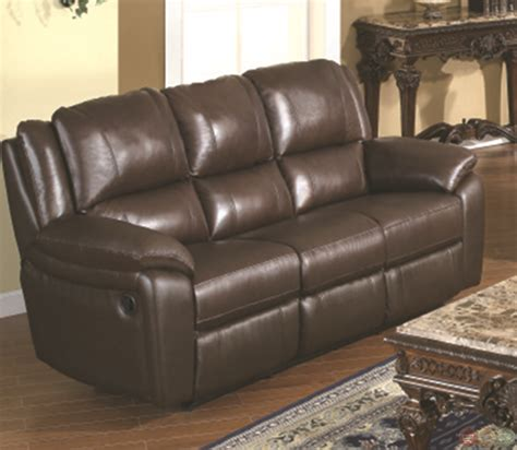 Leather Reclining Sofa Set by Baxtor Brown Reclining Sofa Set Leather Match