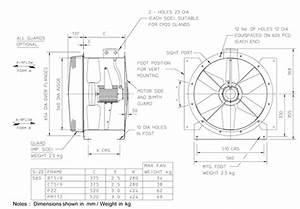 56jm  16  4  5  32  1ph Long Cased Axial Flow Extract Fan By Flakt Woods    Nfan Supply  U0026 Stock