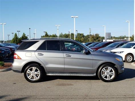 17 city / 22 hwy. Pre-Owned 2012 Mercedes-Benz M-Class 4MATIC® 4dr ML 350 AWD