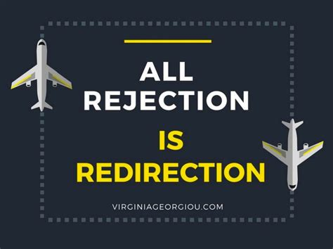 rejection  redirection virginia georgiou personal