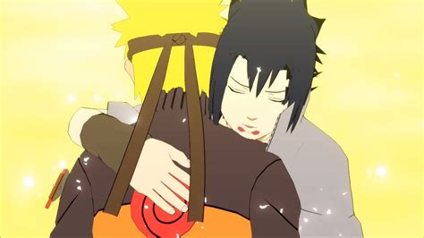 naruto ultimate ninja storm  full burst sasuke hugs