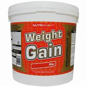 Nutrisport Weight Gain High Protein Powder Mass Gainer - 5kg