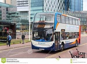 Manchester bus editorial stock image. Image of stagecoach ...