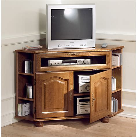 meuble tv d angle cluzel 224 abattant ch 234 ne