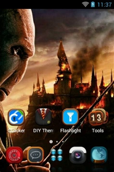 harry potter android theme  clauncher androidlookscom