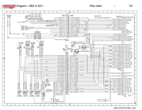 kenworth  electrical wiring diagram manual