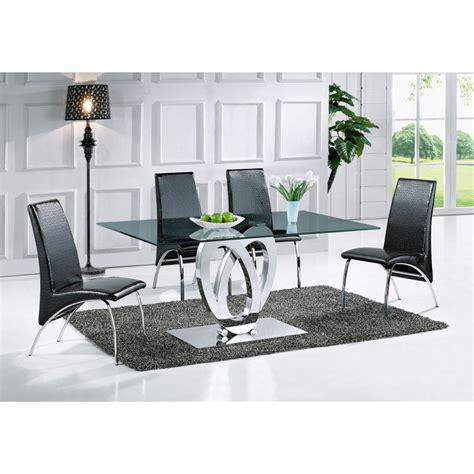 Table De Salle à Manger Design Ellipse (taille Au Choix