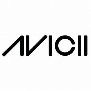 Avicii Logo Wall Sticker Band Music Wall Decal DJ Club