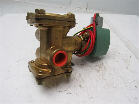 asco 8316g24mo 24vdc solenoid valve 1 2 quot normally closed 3 way 10 250psi ebay