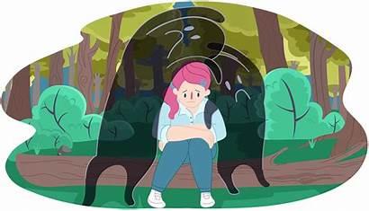 Sad Feeling Depression Depressed Clipart Feelings Support