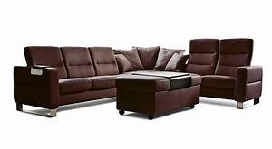 Circle furniture wave stressless sectional ekornes for Sectional sofas circle furniture