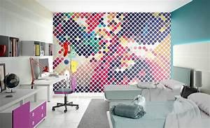 des articles la chambre dado inspiration avec le With papier peint chambre ado