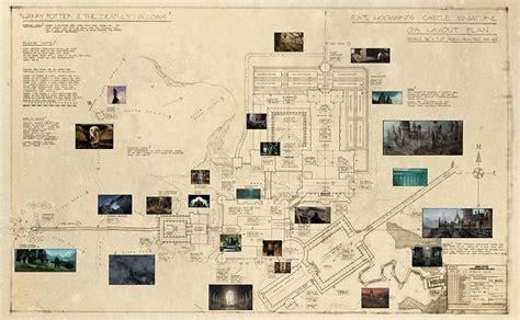 hogwarts blueprints harry potter lexicon