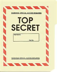 Confidential Cover Sheet Template Top Secret File Folder 5 Pack