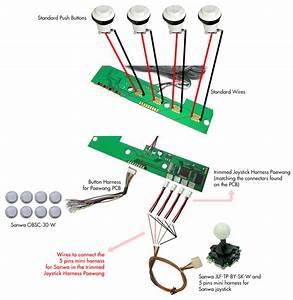 Sanwa Joystick Wiring Diagram
