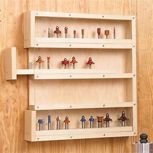 Easy-Access Router-Bit Storage Woodworking Plan, Workshop
