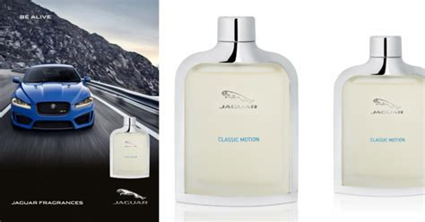 Jaguar Classic Motion  New Fragrances