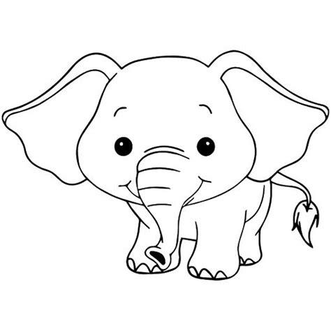 Coloring Gajah by Gambar Mewarnai Anak Gajah Coloring Pictures