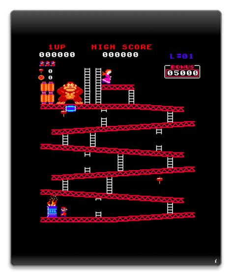 Gamewidgets Donkey Kong